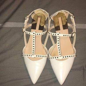 ⚡️Sale‼️Zara D'Orsay Studded Flats